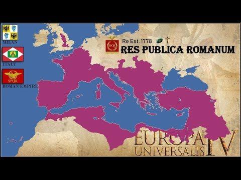Milan-Italy-Roman Republic   Beginner's Guide 1 25 EU4 – EU4