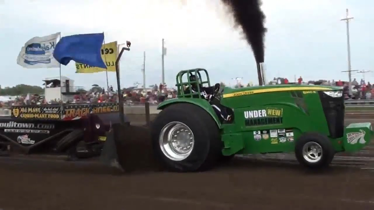 Pro Stock Pulling Tractors : Ostpa pro stock tractors pulling at tiffin oh youtube