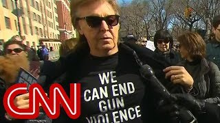 paul mccartney references john lennon at march