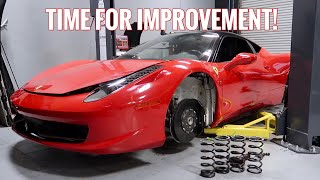 Ferrari 458 Issues Resolved! Time to SLAM IT!