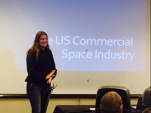 """Giugi Carminati """"An Insider's Look at the Commercial Space Industry"""" October 25, 2015"""