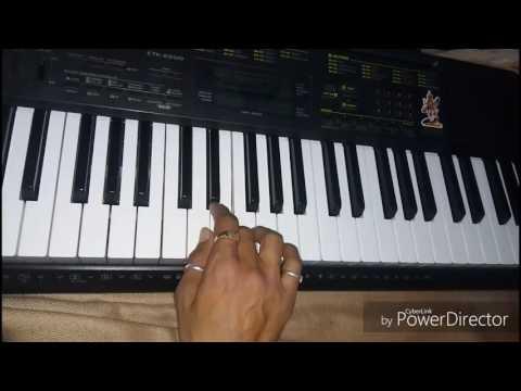Gujarati garbage piano aaj gagan thi chandan dhodayare rajusoni chitrod