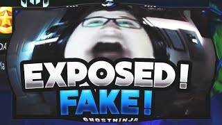 PROOF Ghost Ninja Does Fake Giveaways (EXPOSED)