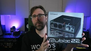 Roland Rubix 22 Unboxing, Review and Testing