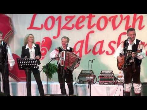 Lojze Ogorevc s prijatelji-Lojze fešta mix (v živo)