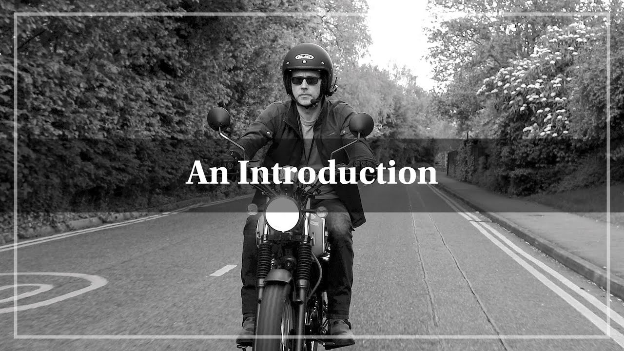 Welcome to The Biking Actor