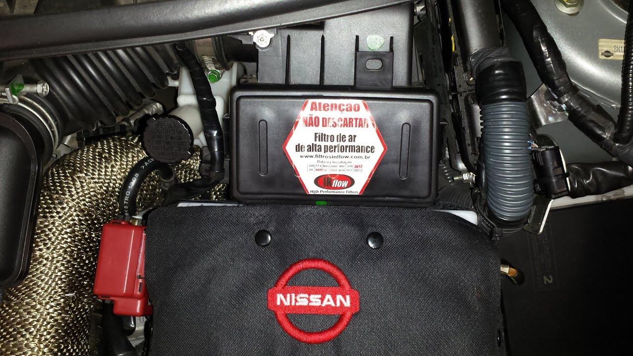 Atenção com a caixa do filtro de ar do NISSAN TIIDA e ...