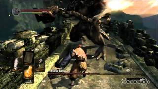 Dark Souls: Taurus Demon Boss Fight - Gameplay Movie (PS3)