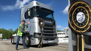 2019 SCANIA Driver Competition Final Sweden - Winner Get's New Truck!!