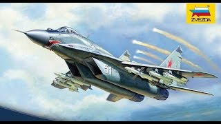 1/72 Russian Fighter MiG-29 (9-13) by Zvezda