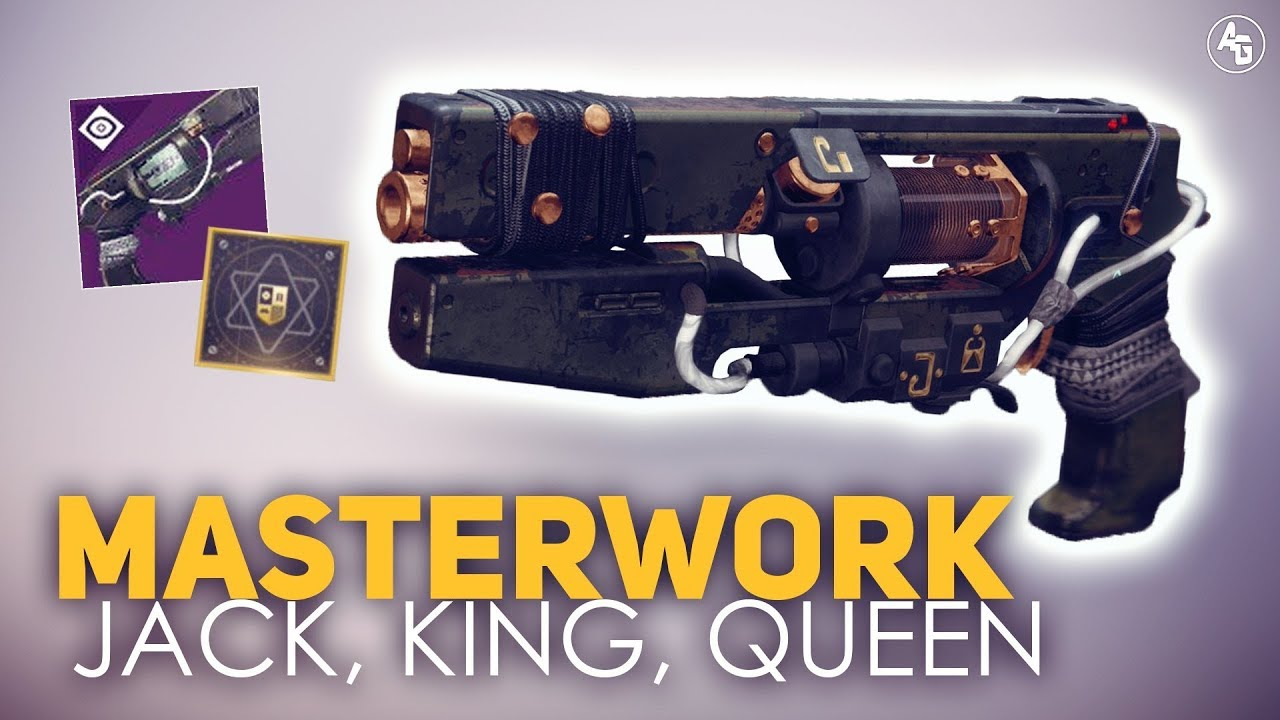 Jack Queen King Masterwork Hand Cannon | Destiny 2: Forge Hand