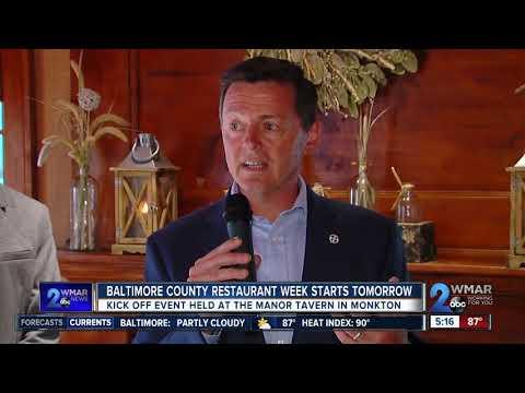 Baltimore County Restaurant Week Begins Friday