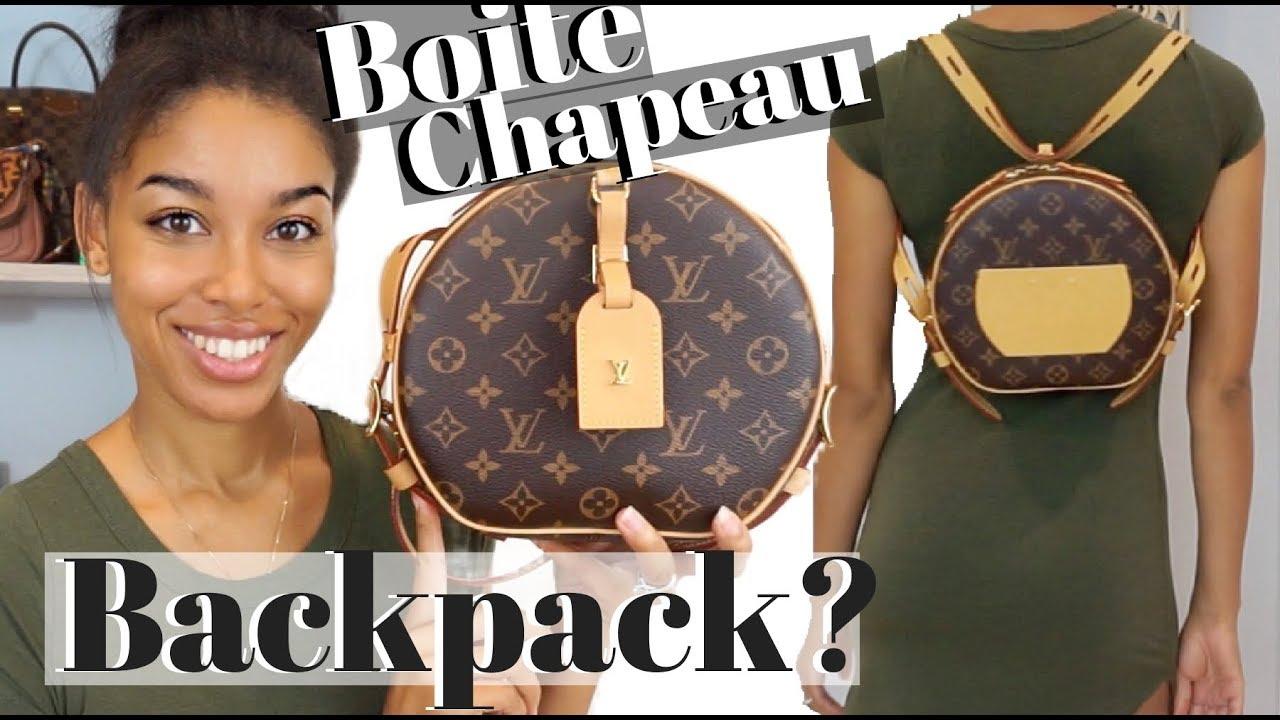 7f76d72e8f40 Louis Vuitton Boite Chapeau Souple