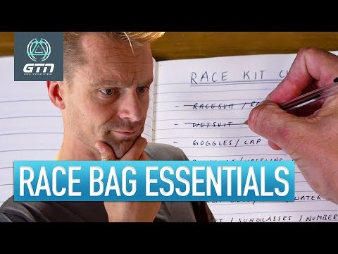 The Essential Triathlon Checklist   What To Pack In Your Bag For Race Day