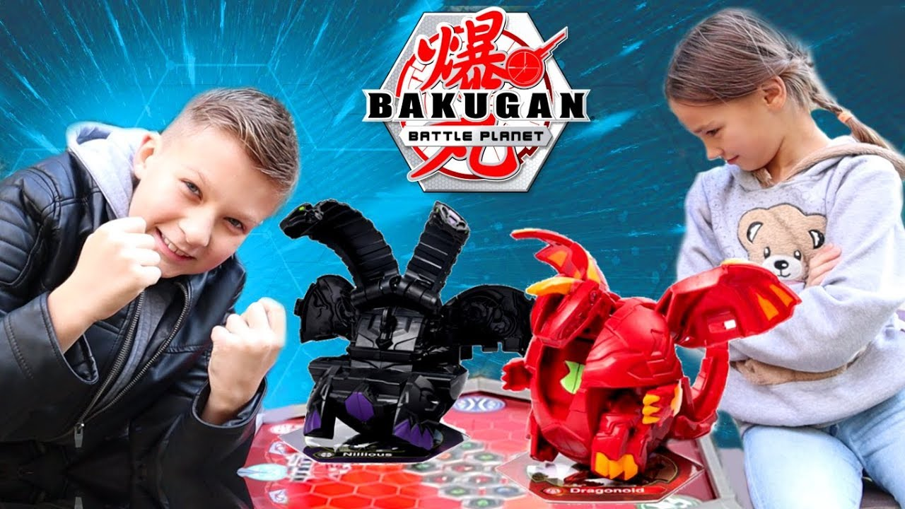 Уличный Бакуган ТУРНИР 🏆 Кто самый сильный игрок во дворе в Bakugan Battle Planet?