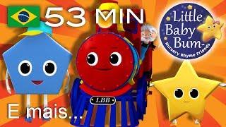 Trem das Formas   E muitas mais Canções de Ninar   LittleBabyBum!