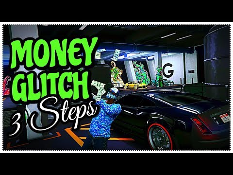 GTA 5 ONLINE - QUICK MONEY GLITCH ONLY 3 STEPS MAKE MILLIONS FAST | GTA V ONLINE MONEY GLITCHES