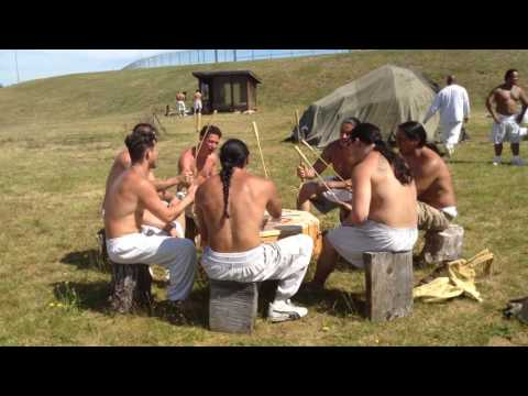 Native American Drumming and Singing in Prison--WCC/Shelton, 6/25/17
