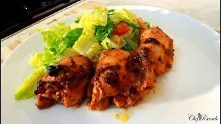 Jerk Chicken Salad Recipe For Summer [Jamaican Jerk Chicken]