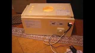 самодельный пенопластовый инкубатор. homemade styrofoam incubator(Вопрос самостоятельного изготовления инкубатора в домашних условиях актуален для всех фермеров, занимающ..., 2015-03-21T23:08:28.000Z)