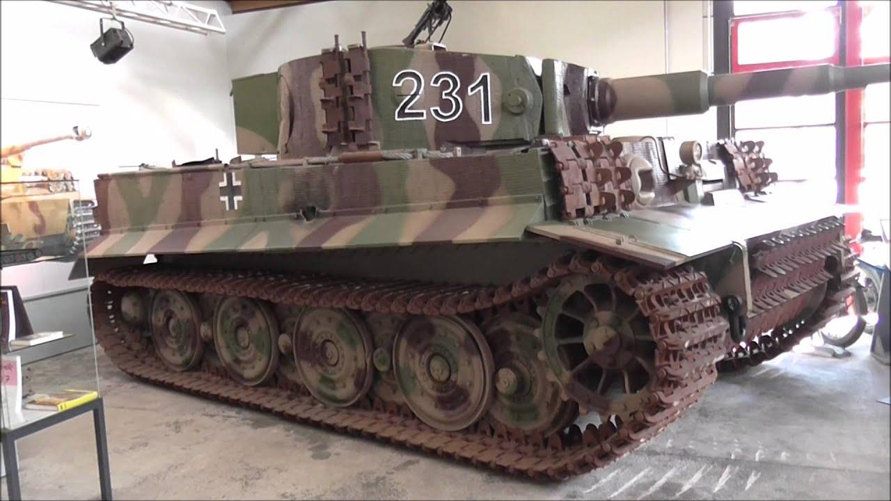 tiger tank tiger panzerkampfwagen vi panzermuseum. Black Bedroom Furniture Sets. Home Design Ideas