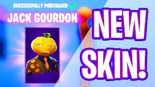 *NEW* JACK GOURDON SKIN! [Fortnite Item Shop October 19]