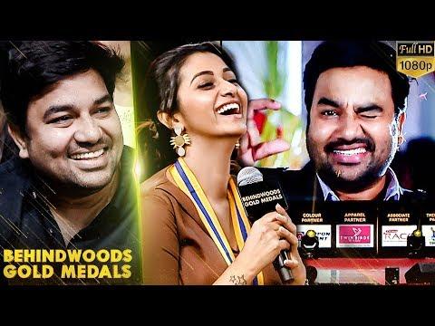 Priya BhavaniShankar Reaction for Mirchi Shiva's Song!! - Catch the Moment!!