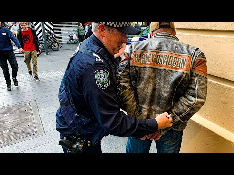 First Time Arrested Because I Was Riding My Harley Davidson