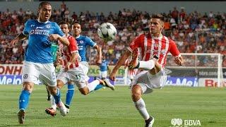 Apertura 2016 | Necaxa vs Cruz Azul (Partido completo) Primer Tiempo