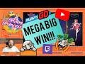 Mega Big Win From Moon Princess Slot!!