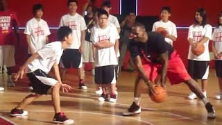 Best of LeBron James playing 1 on 1 vs Fans (destroys everyone!)