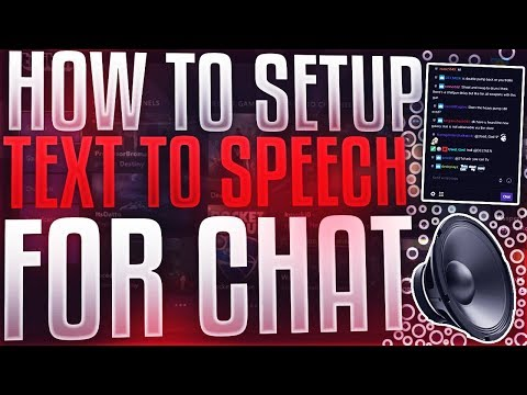 HOW TO SETUP TEXT TO SPEECH FOR CHAT IN LIVE STREAM *YouTube/Twitch* [2019]