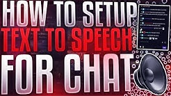 [2020] HOW TO SETUP TEXT TO SPEECH FOR CHAT IN LIVE STREAM *YouTube/Twitch*