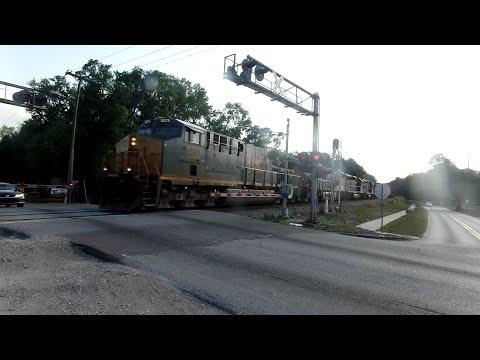 Brandon Florida CSX Power Move