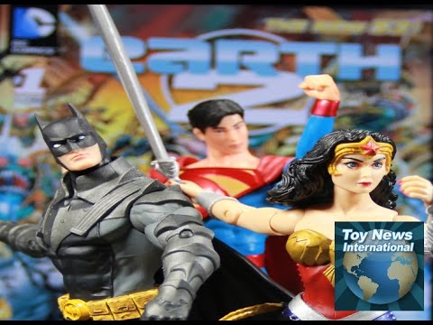 DC Collectibles New 52 Earth 2 Superman And Batman Figures Review