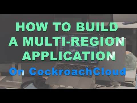 How to Build a Multi Region App on CockroachCloud - Part 1, The Web App