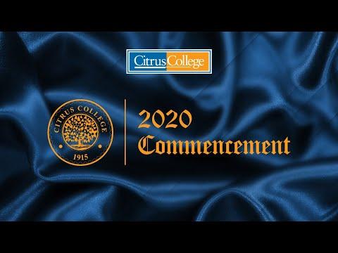Citrus College Graduation Slideshow 2020
