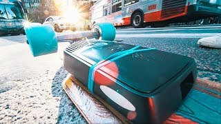 BEST Electric Skateboard Drive - MELLOW BOARD REVIEW