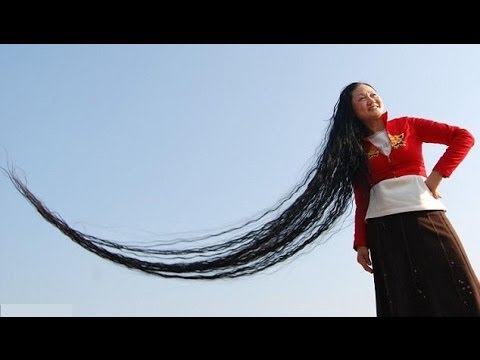 Longest Human Hair in the world - SpecialHumanVideo - YouTube