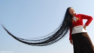 Longest Human Hair in the world - SpecialHumanVideo