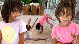 Lil Sister vs Big Sister: Gymnastics Class Expectations vs Reality