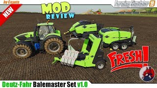 "[""BEAST"", ""Simulators"", ""Review"", ""Timelapse"", ""Let'sPlay"", ""FarmingSimulator19"", ""FS19"", ""FS19ModReview"", ""FS19ModsReview"", ""DEUTZ FAHR Balemaster Set""]"