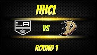 Roblox HHCL S18 Playoffs Round 1 Los Angeles vs Anaheim Ducks Series Highlights!