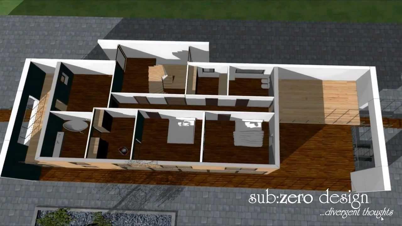 Augmented Reality House Interior Sub Zero Design 3d