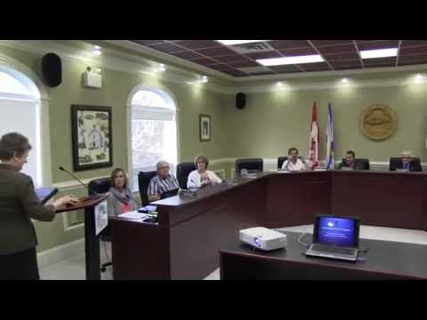 April 29, 2014 - Committee of the Whole