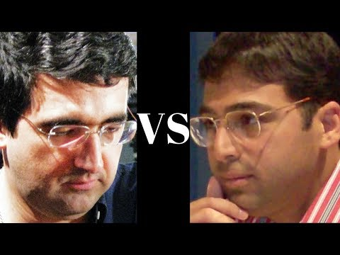Amazing Chess Game : Vladimir Kramnik vs Vishy Anand - Wch Game 3, 2008 - Slav Defence