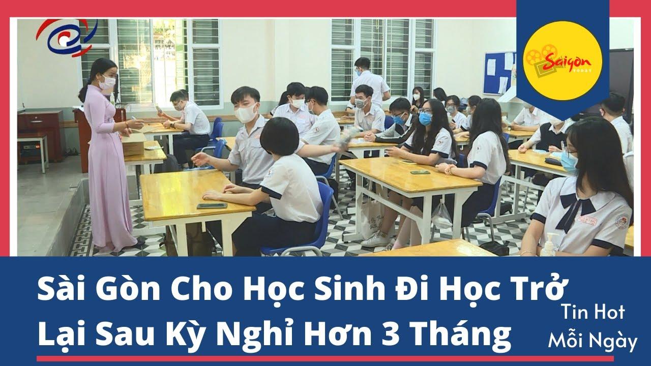 Sài Gòn Cho Học Sinh Lớp 9 và Lớp 12 Đi Học Lại Sau Kỳ Nghỉ Tết Huyền Thoại Kéo Dài Hơn 3 tháng 😊