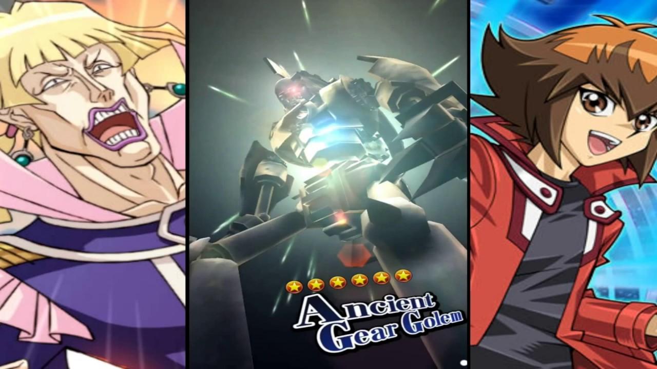Yu-Gi-Oh! Duel Links (Ancient Gear Golem) Vellian Crowler - KOG