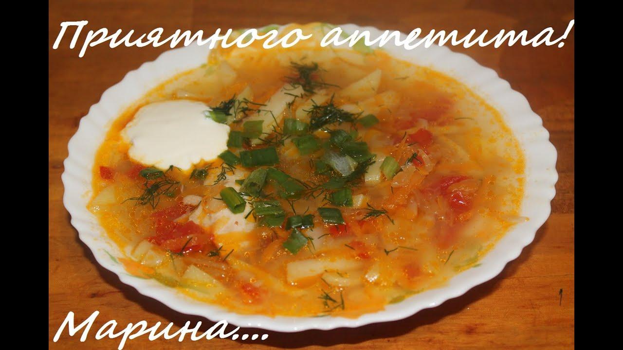 суп щи из капусты рецепт