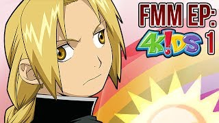 Fullmetal Magician: Episode 1 (If 4kids got FMA Brotherhood)